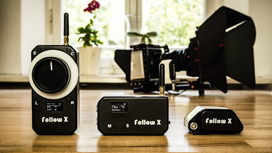 follow X - Wireless Follow Focus, Aperture and Cameracontrol