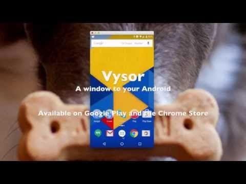 Manipula tu teléfono celular Android desde tu PC