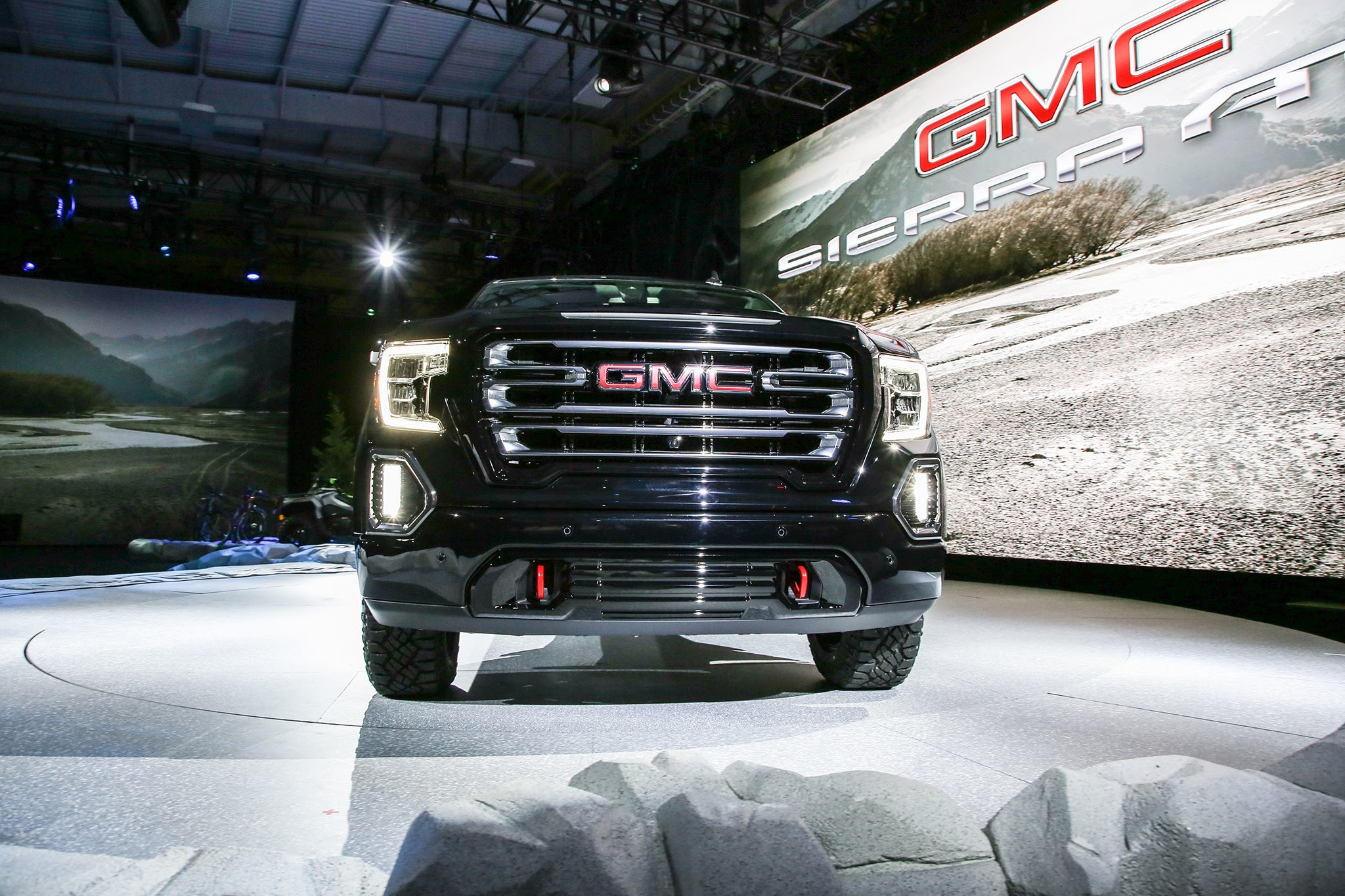 2019 gmc sierra at4 gets more offroad chops  automobile