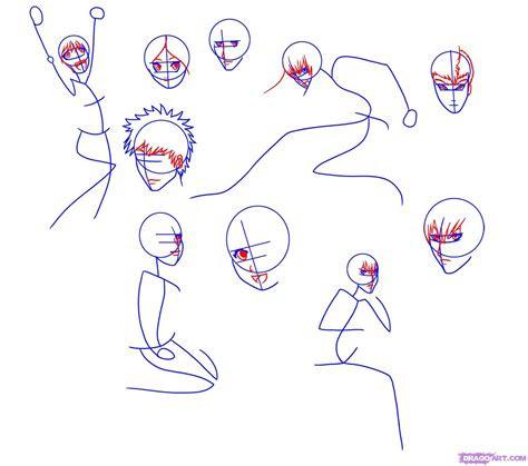 draw anime characters step  step anime people