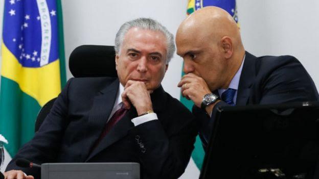 Temer e Moraes