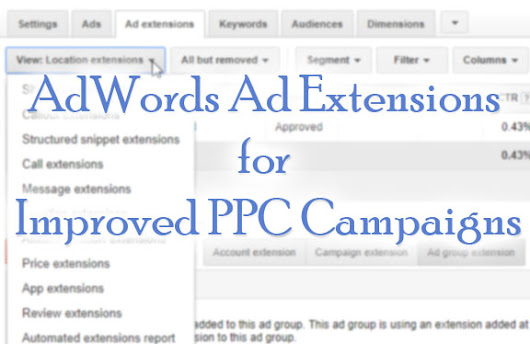 AdWords Ad Extensions - Steam Driven Media