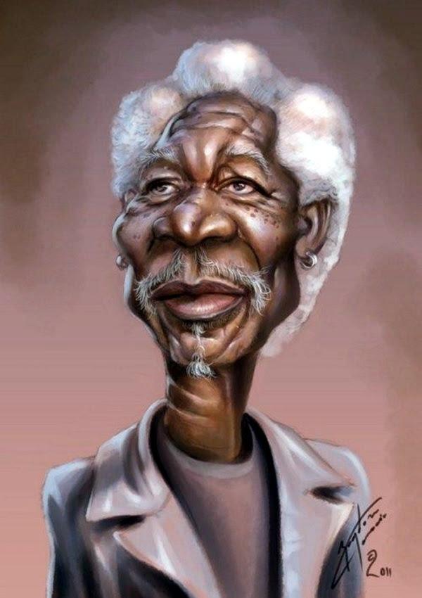 Portrait Caricatures Of Famous Peoples (1)