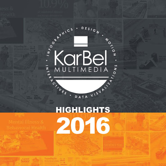 2016 Infographic Design Highlights | Year in Review | KarBel Multimedia