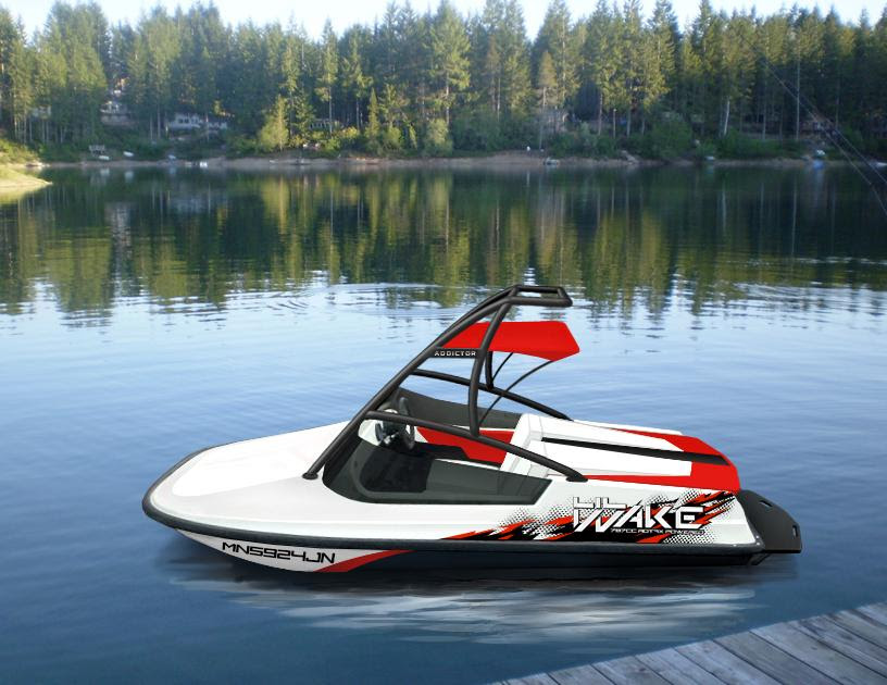 Worlds smallest wakeboard boat. 787cc Rotax powered. *BUILD THREAD