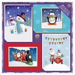 Burgoyne Whimsical Christmas Cards, 40-count