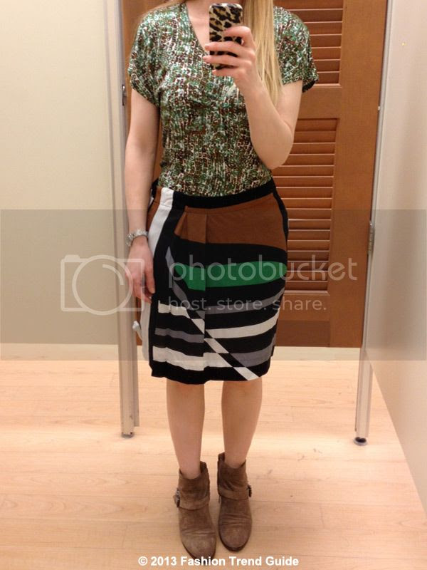 Derek Lam for Kohl's DesigNation clothing review, Derek Lam Kohl's fitting room