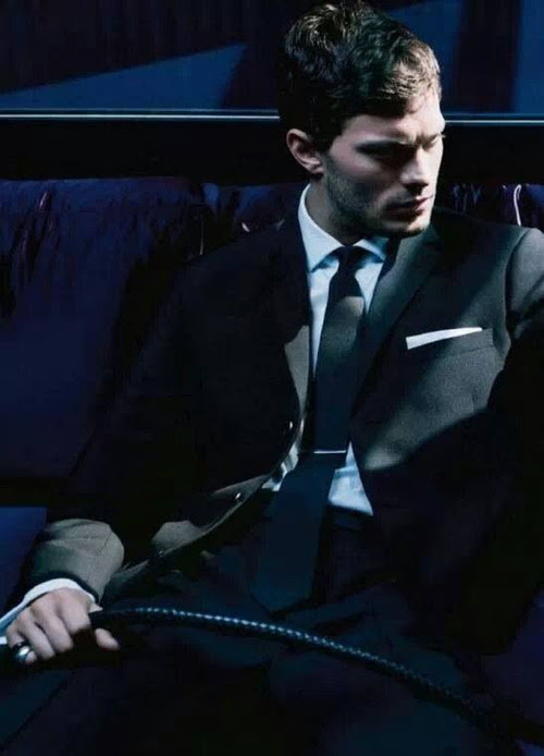 worldofchristiangrey:Jamie Dornan + Riding Crop = Christian Grey