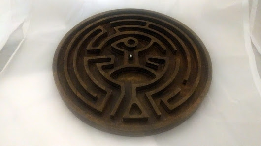 "Be Seduced by this ""Western"" Wooden Marble Maze"