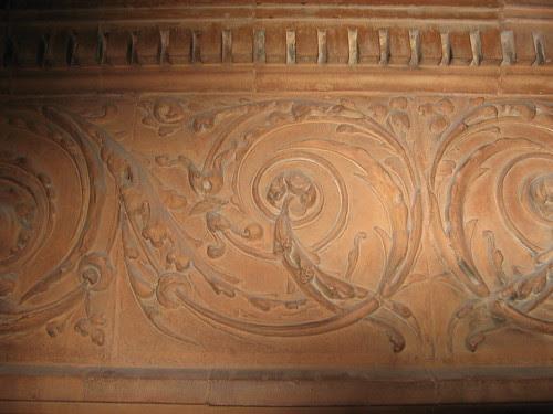 The Bradbury Building - Interior Terra Cotta