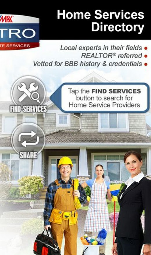 RE/MAX Metro Home Services Directory's SavvyCard