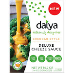 Daiya Cheeze Sauce, Deluxe, Cheddar Style - 3 pack, 4.72 oz packets