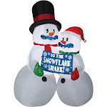 AIRBLOWN SHIVERING SNOW COUPLE - 92251 - White - standard