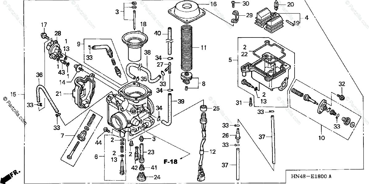 Wiring Database 2020  30 Honda Rincon Parts Diagram