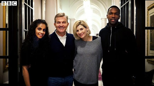 BBC - Meet the cast of the all new series of Doctor Who - Media Centre