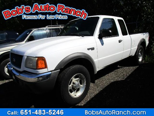 Used 2001 Ford Ranger XLT SuperCab 4.0 Flareside w/Off-Road 4WD for Sale in Lino Lakes MN 55014 Bobs Auto Ranch