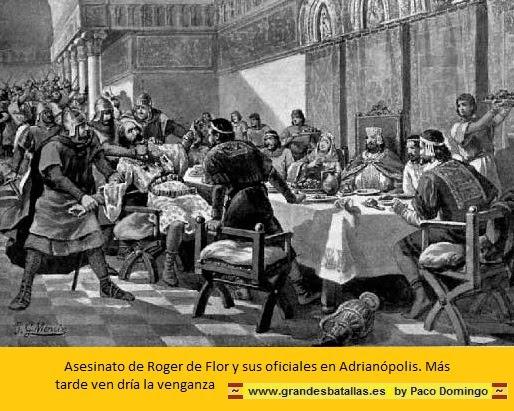 ASESINATO DE ROGER DE FLOR