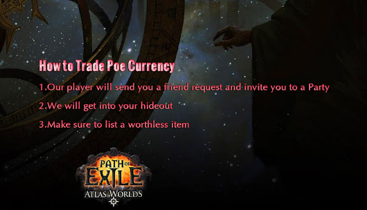 How to Trade POE Currency -