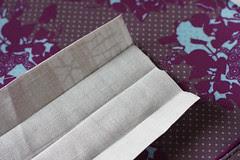 bag tutorial thinner version of handles