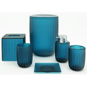 Blue Bathroom Accessories  And Designs goodworksfurniture