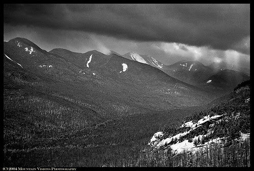 Storm above the Great Range from the Brothers.
