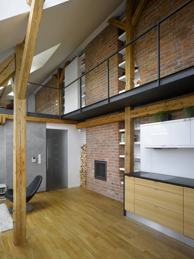 Mini-Loft Apartment In Prague / Dalibor Hlavacek © Filip Slapal