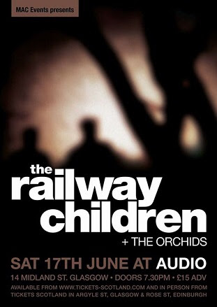 The Railway Children live @ Audio, Glasgow
