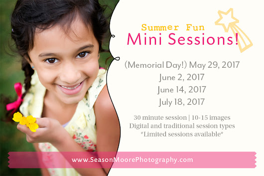 It's time to schedule your summer portraits, Raleigh!