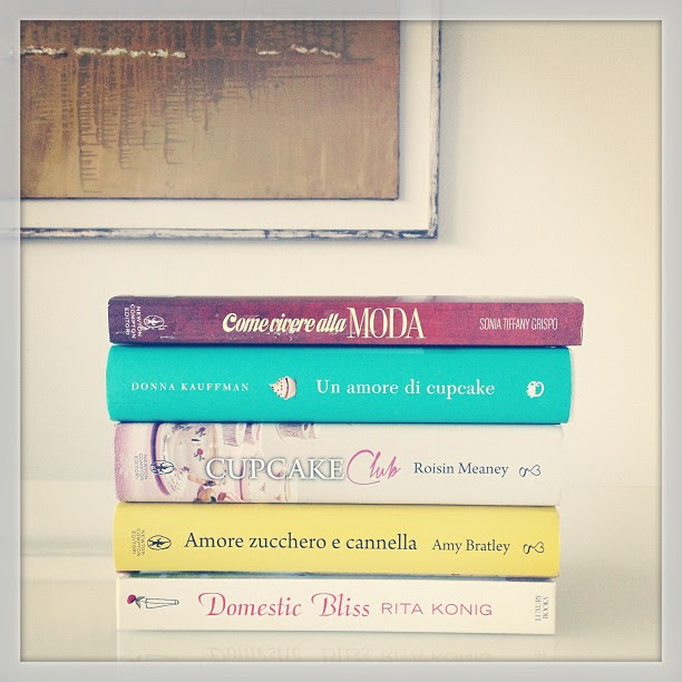 Let's talk about books!  Però domani sul blog...