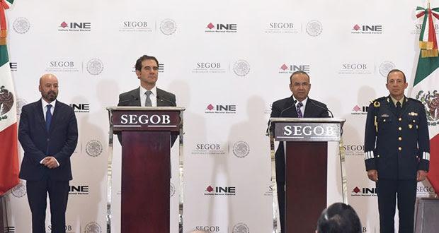 Segob presenta protocolo para proteger a candidatos que lo pidan