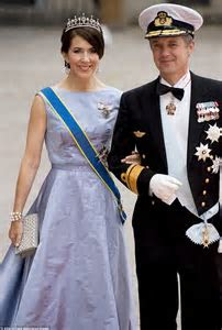 Crown Princess Mary and Crown Prince Frederic attend