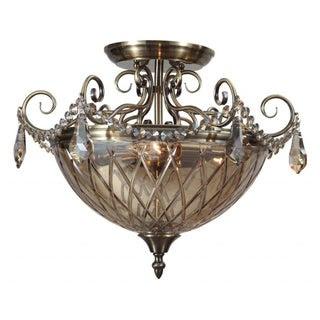 Antique Brass Lighting & Ceiling Fans | Overstock.com: Buy