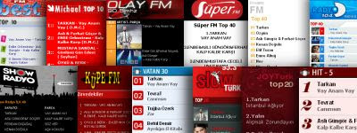 Tarkan top of most of the major radio play charts