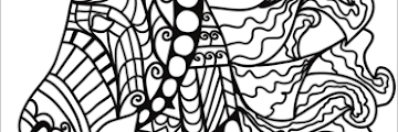 Free Printable Coloring Pages Zentangle