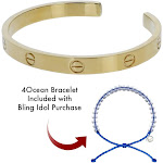 The Ocean Bling Collection - Ladies Classic Lovers Bracelet