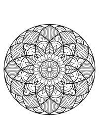 Coloriage Mandala Gratuit A Imprimer Coloriage Mandala Imprimer