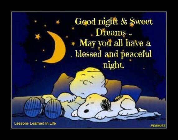 Good Night Sweet Dreams Have A Restful Night Pictures Photos And