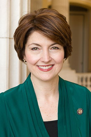 English: Official portrait of US Rep Cathy McM...