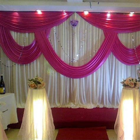 Aliexpress.com : Buy Event Services Stage Curtain Drapes