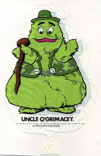 Uncle O'Grimacey puppet
