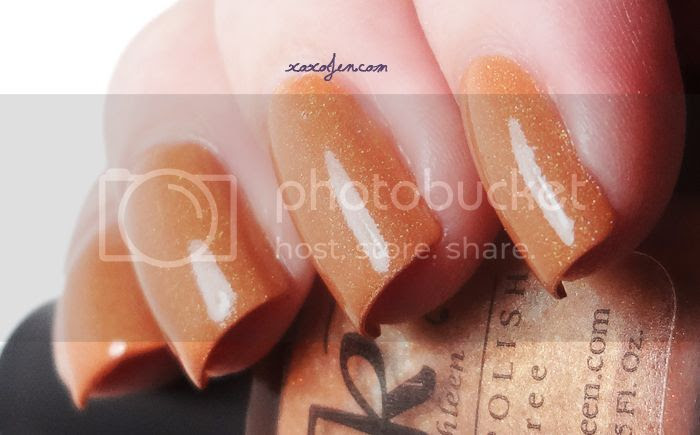 xoxoJen's swatch of Anne Kathleen Oksana
