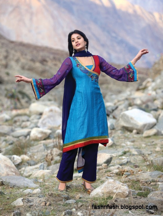 Indian-Pakistani-Casual-Shalwar-Kameez-Design-Churidar-Salwar-Kamiz-New-Trend-Fashion-Dress-2