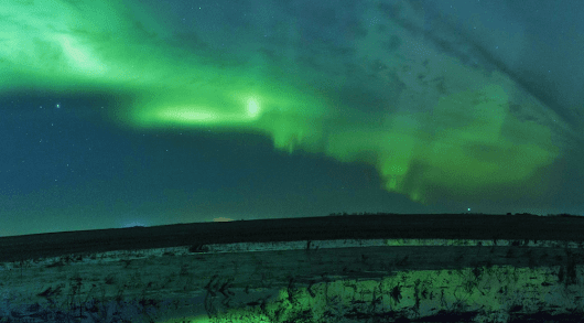 Northern Lights visible over Calgary March 28 to 30