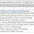 How To Build Agile SEO Tools Using Google Spreadsheets | distilled