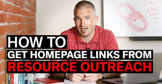 How to Get Homepage Links from Resource Outreach