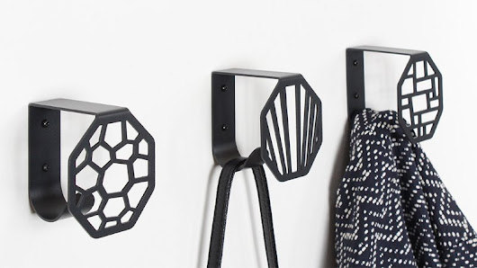 Wall hooks from BY DYB: Inspiration on how to decorate with KNAGEN