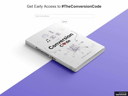 The Conversion Code - A new business book for marketers and salespeople