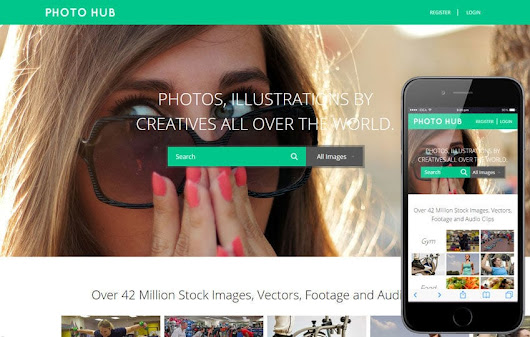 Photo Hub a Photo gallery Flat Bootstrap Responsive Web Template by w3layouts
