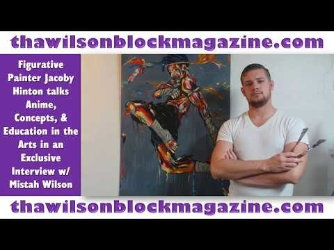 Figurative Painter Jacoby Hinton talks Anime, Concepts, & Education in t...