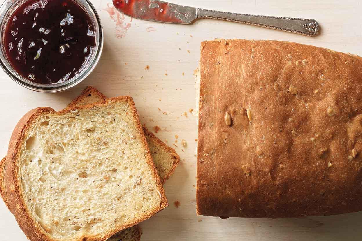 Harvest Grains Bread Recipe | King Arthur Flour